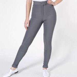 Gray Riding Pants Small S 4 Stretchy Leggings HTF
